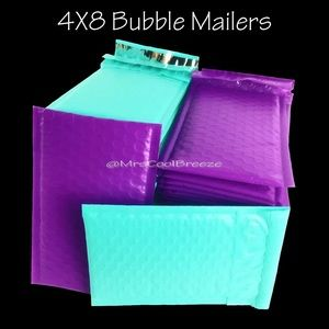 30 - 4X8 All 4 Colors Poly Bubble Mailers
